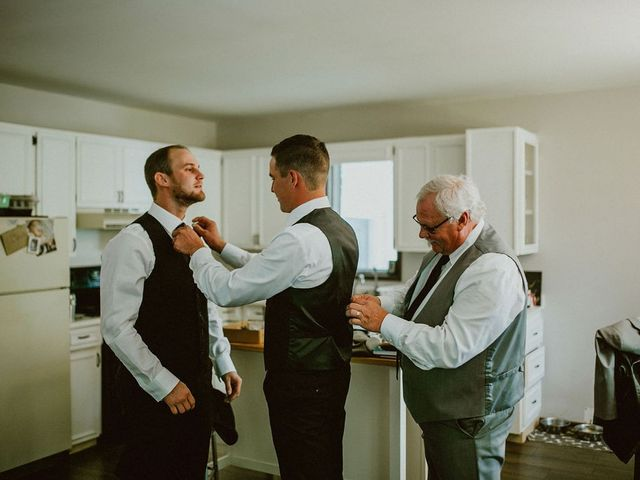 Dylan and Janelle's wedding in Steinbach, Manitoba 2
