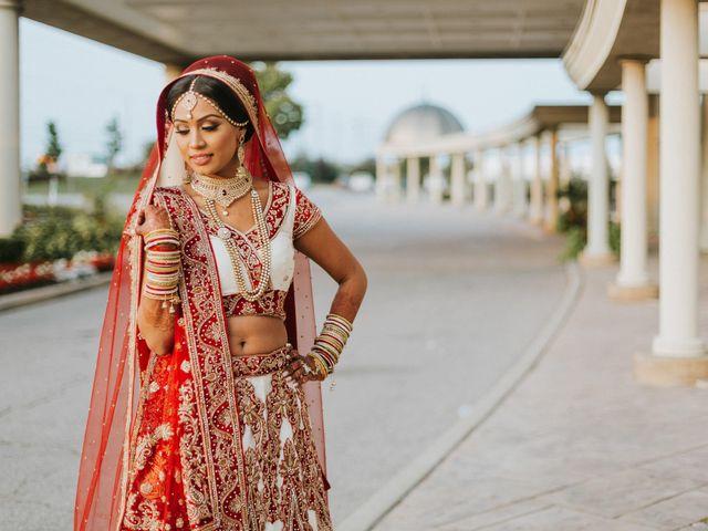 Nirdosh and Rima's wedding in Mississauga, Ontario 1