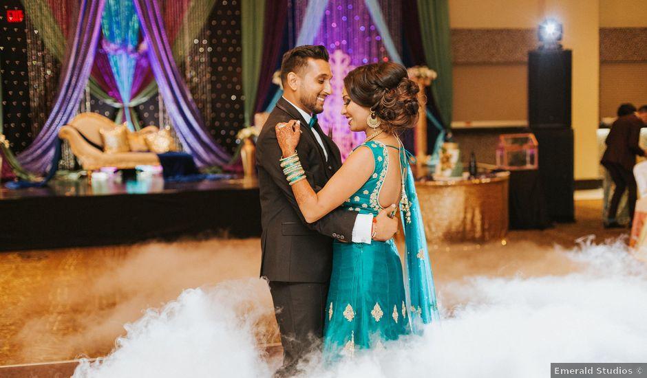 Nirdosh and Rima's wedding in Mississauga, Ontario