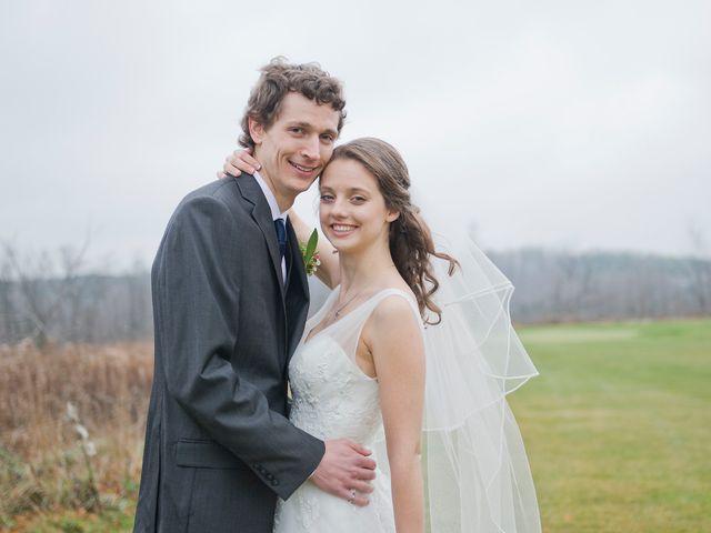 The wedding of Nicole and David