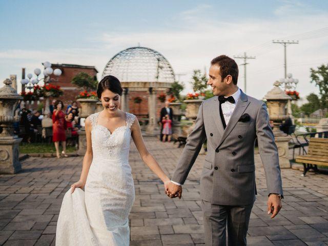 The wedding of Katherine and Nizar