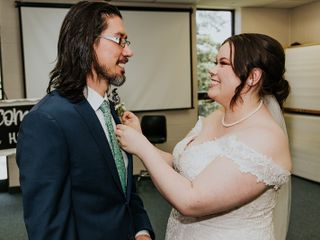 The wedding of Gabby and Brad 1