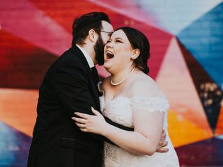 The wedding of Gabby and Brad