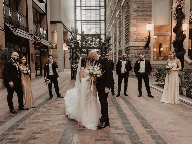 The wedding of Caren and Greg