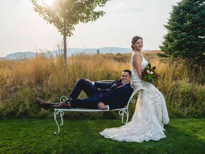 The wedding of Magda and Nick