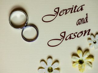 The wedding of Jevita and Jason 1