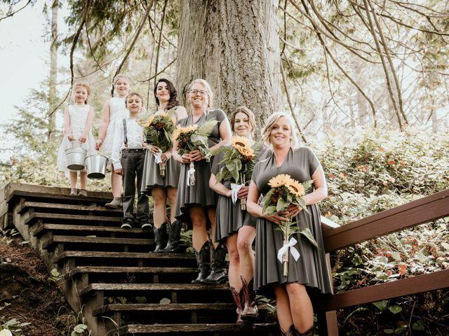 Chelsea and Jacob's wedding in Sooke, British Columbia 1