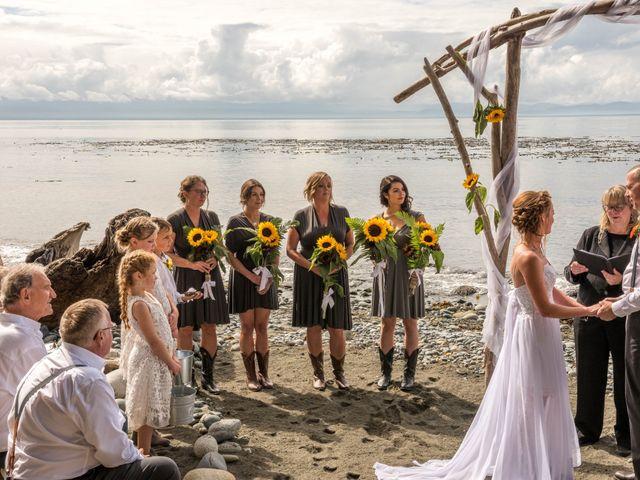 Chelsea and Jacob's wedding in Sooke, British Columbia 7