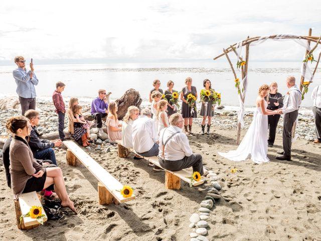 Chelsea and Jacob's wedding in Sooke, British Columbia 8