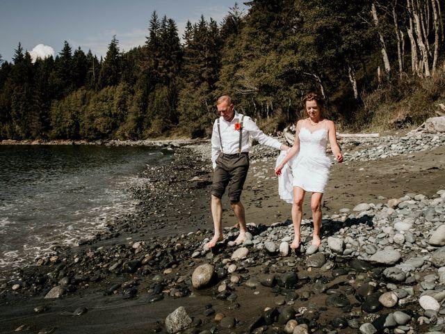 Chelsea and Jacob's wedding in Sooke, British Columbia 15