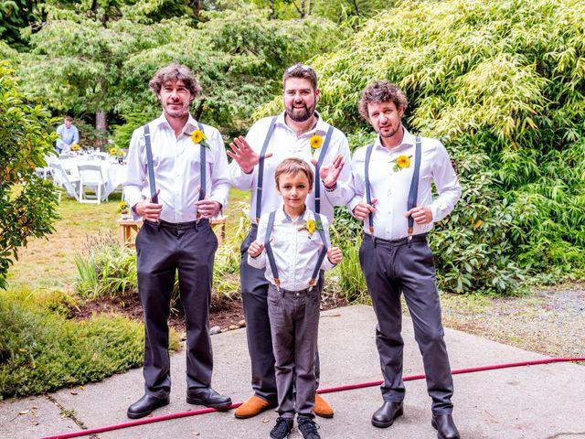 Chelsea and Jacob's wedding in Sooke, British Columbia 22