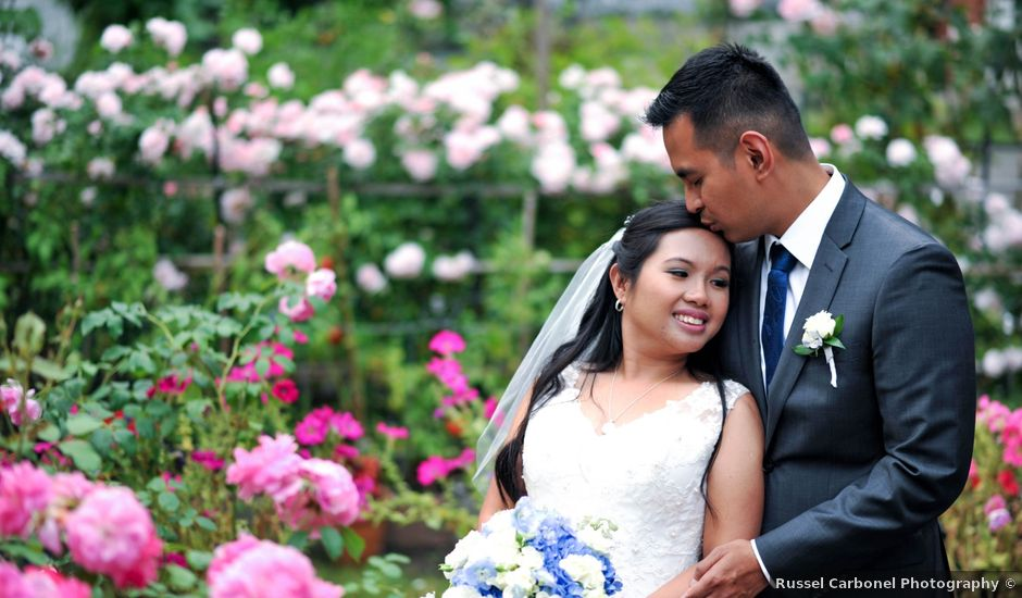 Anne and Jerome's wedding in Burnaby, British Columbia