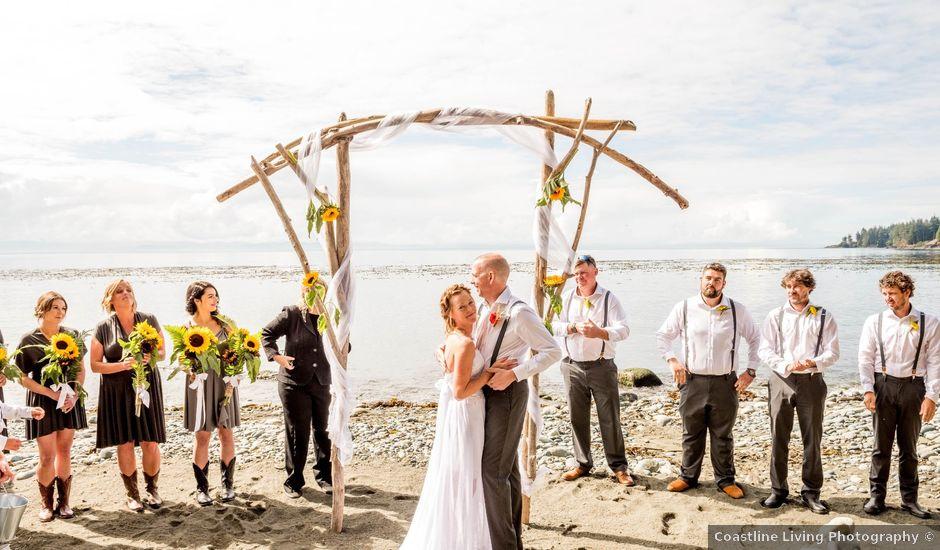 Chelsea and Jacob's wedding in Sooke, British Columbia