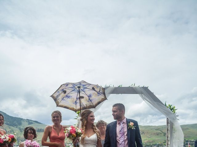 Ross and Kate's wedding in Vernon, British Columbia 15