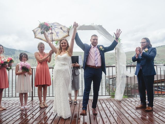 Ross and Kate's wedding in Vernon, British Columbia 16