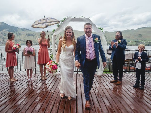 Ross and Kate's wedding in Vernon, British Columbia 17