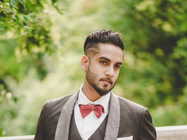 Marc and Roshni's wedding in Mississauga, Ontario 12