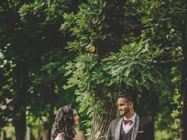 Marc and Roshni's wedding in Mississauga, Ontario 16
