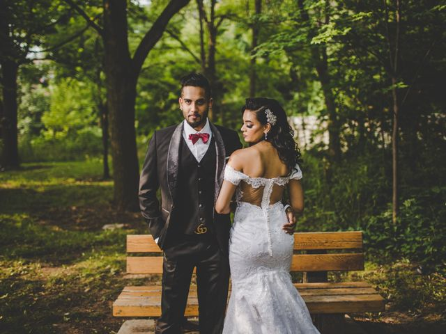The wedding of Roshni and Marc