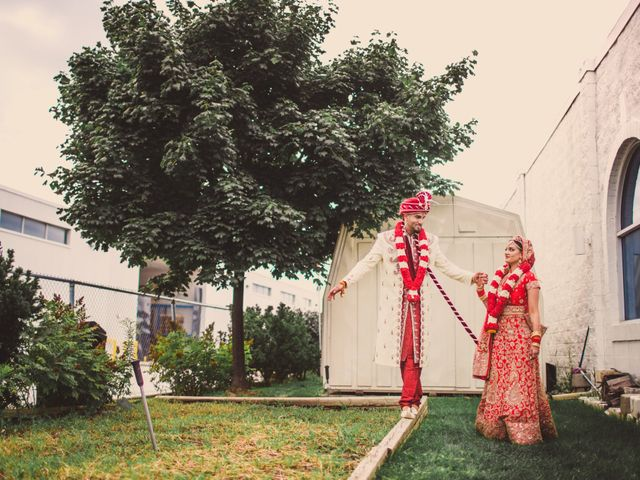 Marc and Roshni's wedding in Mississauga, Ontario 19