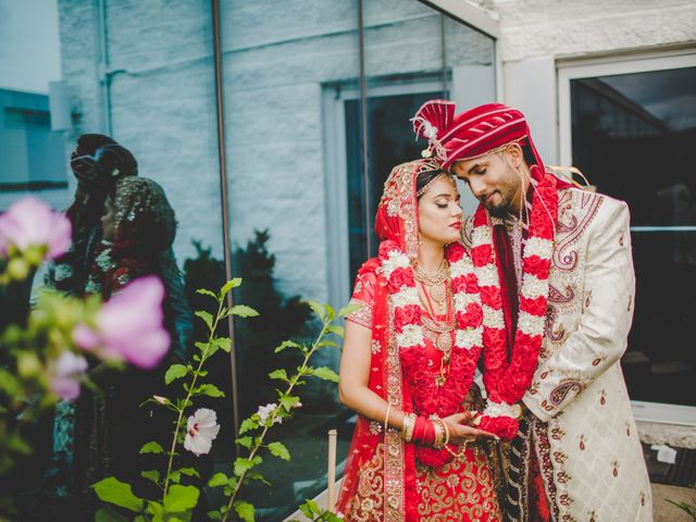 Marc and Roshni's wedding in Mississauga, Ontario 4