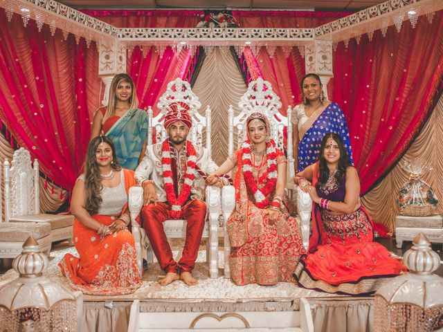 Marc and Roshni's wedding in Mississauga, Ontario 21