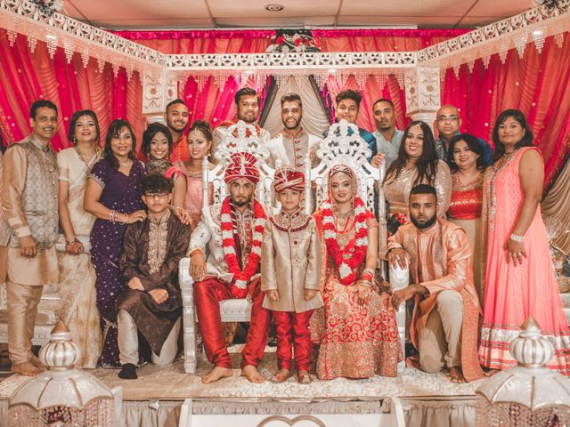 Marc and Roshni's wedding in Mississauga, Ontario 24