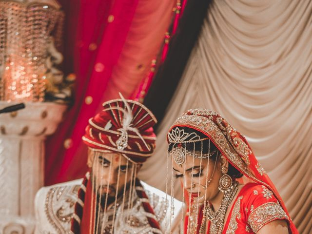 Marc and Roshni's wedding in Mississauga, Ontario 1