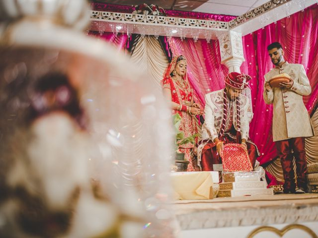 Marc and Roshni's wedding in Mississauga, Ontario 41