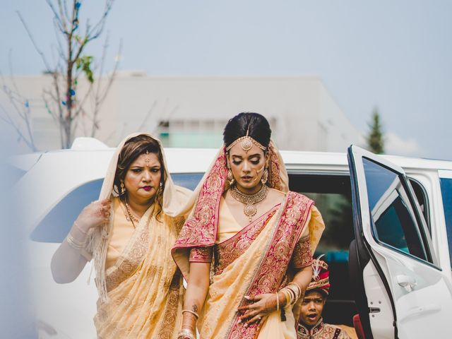 Marc and Roshni's wedding in Mississauga, Ontario 51