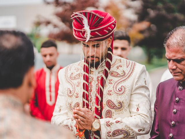 Marc and Roshni's wedding in Mississauga, Ontario 56