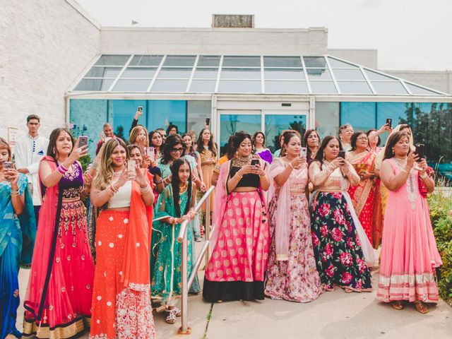 Marc and Roshni's wedding in Mississauga, Ontario 69