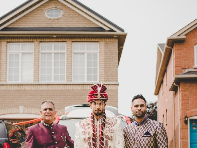 Marc and Roshni's wedding in Mississauga, Ontario 81