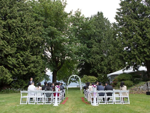 Farley and Cindy's wedding in Vancouver, British Columbia 31