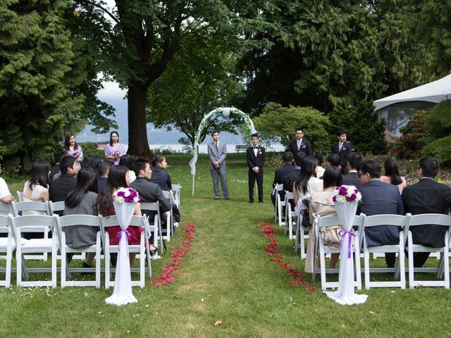Farley and Cindy's wedding in Vancouver, British Columbia 34