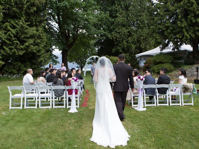 Farley and Cindy's wedding in Vancouver, British Columbia 36