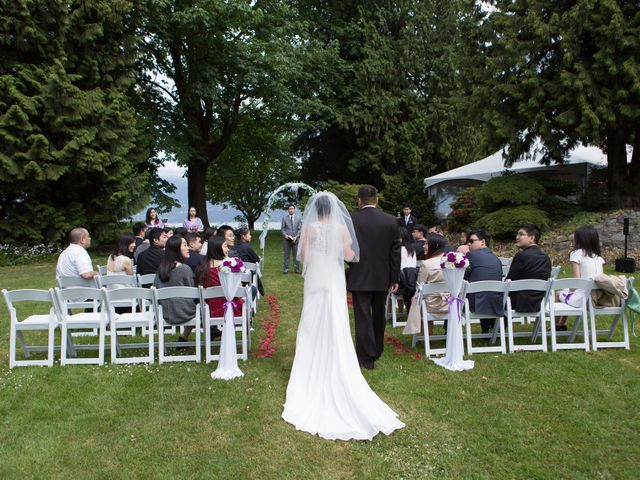 Farley and Cindy's wedding in Vancouver, British Columbia 37