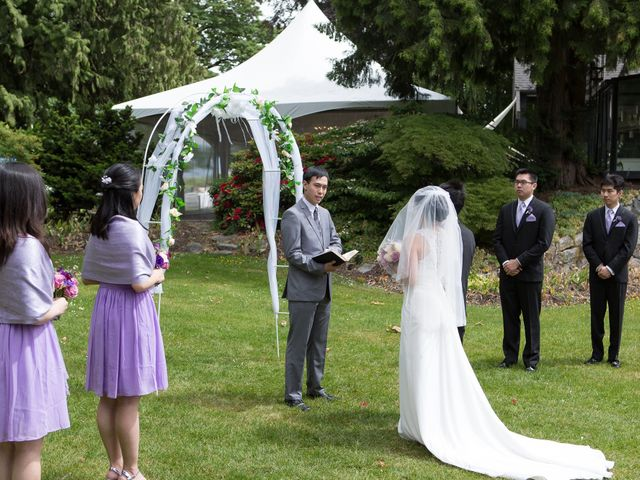 Farley and Cindy's wedding in Vancouver, British Columbia 40