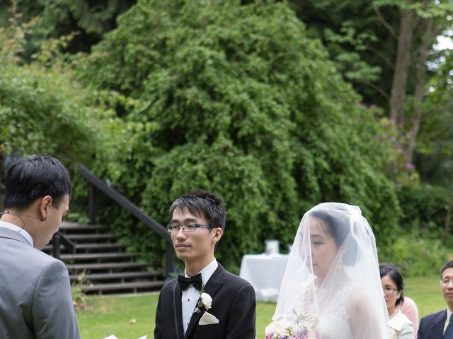Farley and Cindy's wedding in Vancouver, British Columbia 41
