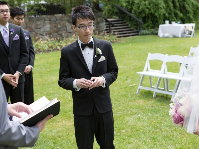 Farley and Cindy's wedding in Vancouver, British Columbia 43