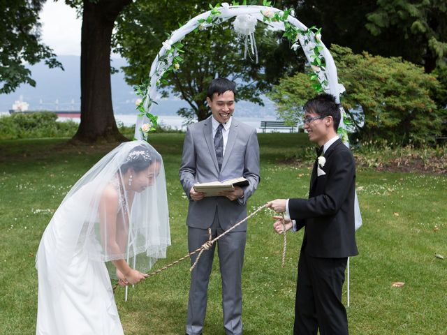 Farley and Cindy's wedding in Vancouver, British Columbia 49