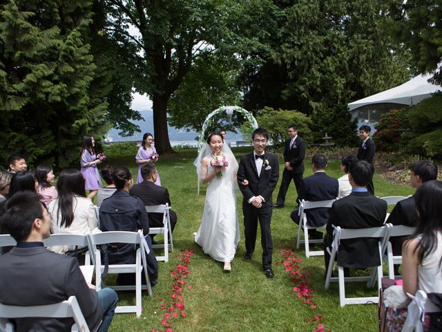 Farley and Cindy's wedding in Vancouver, British Columbia 50