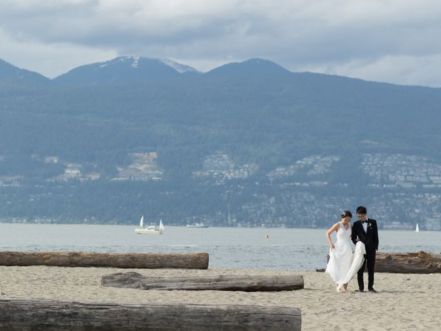 Farley and Cindy's wedding in Vancouver, British Columbia 142