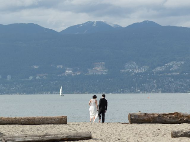 Farley and Cindy's wedding in Vancouver, British Columbia 2