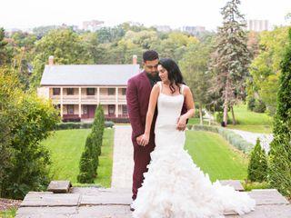 The wedding of Kourtney and Kolton