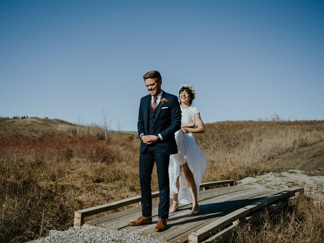 Brett and Courtney's wedding in Calgary, Alberta 22