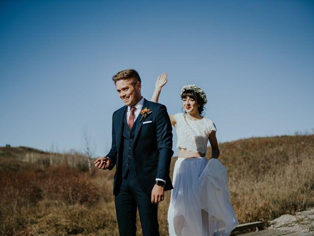 Brett and Courtney's wedding in Calgary, Alberta 23