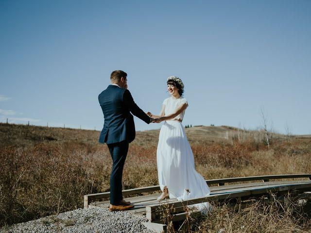 Brett and Courtney's wedding in Calgary, Alberta 29