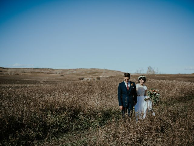 Brett and Courtney's wedding in Calgary, Alberta 39