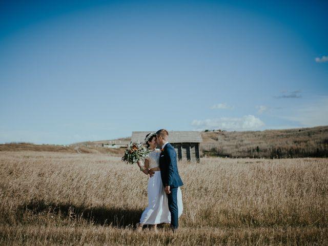 Brett and Courtney's wedding in Calgary, Alberta 41